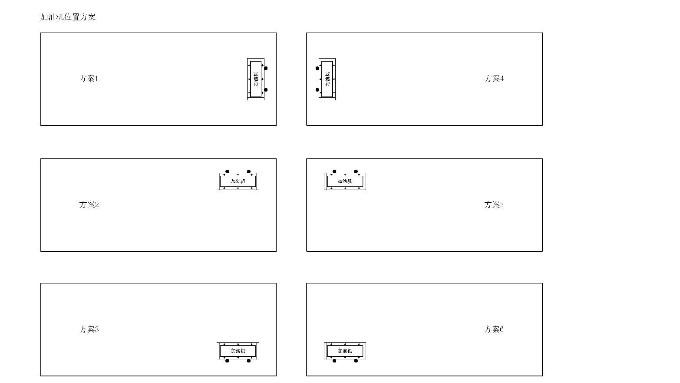优孚尔橇装加油站加油机位置介绍-单加油机篇
