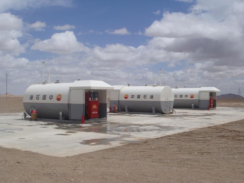 青海20立方米单舱20,000L One Compartment in Qinghai Province