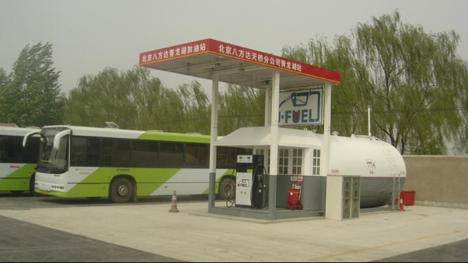 优孚尔撬装加油站服务北京奥运会