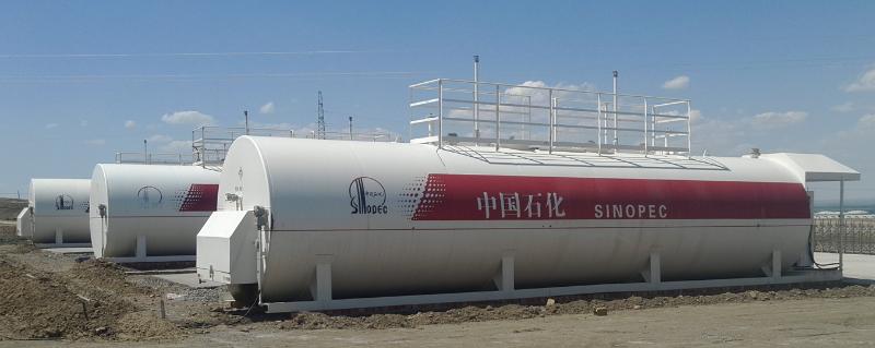 新疆中石化撬装加油站02