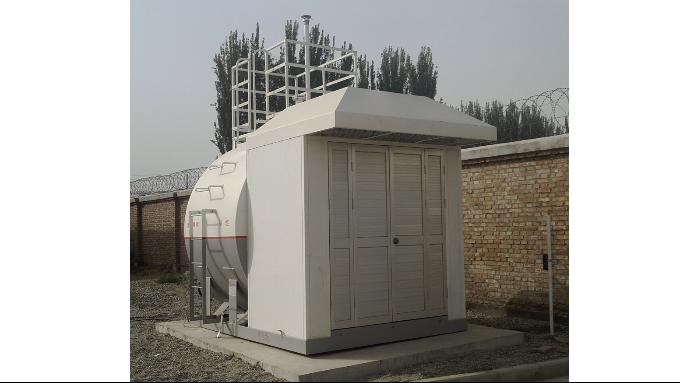 优孚尔大事记--为新疆中航油供货微型撬装加油站设备