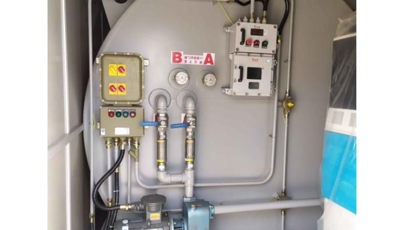 橇装式加油装置油气回收说明之一级油气回收篇