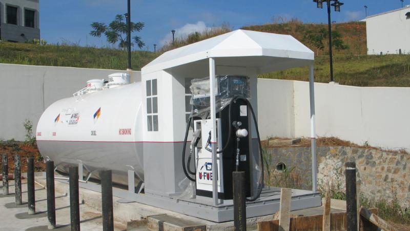 优孚尔撬装加油站出口到塞拉利昂美国大使馆