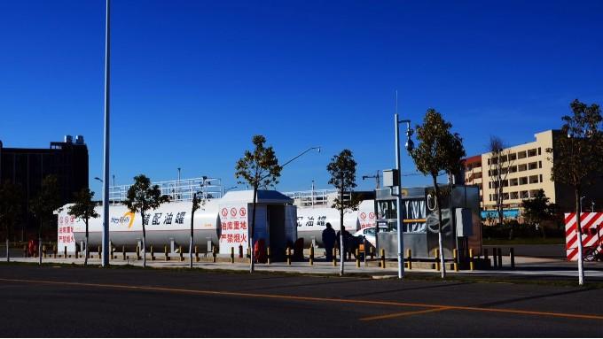 城市建成区的撬装加油站的总罐容多大才合规呢