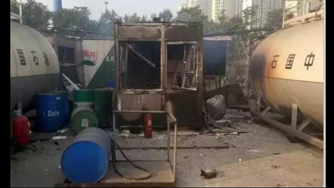 回顾:经历了天津港大爆炸的优孚尔撬装加油站