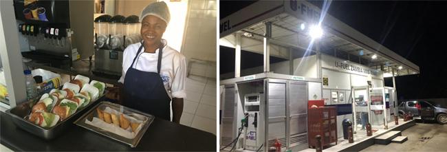 优孚尔为赞比亚公司量身定制微型超市橇装加油站