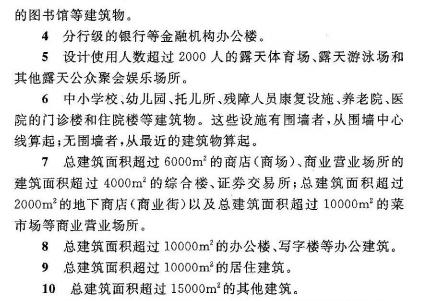 民用建筑规定2