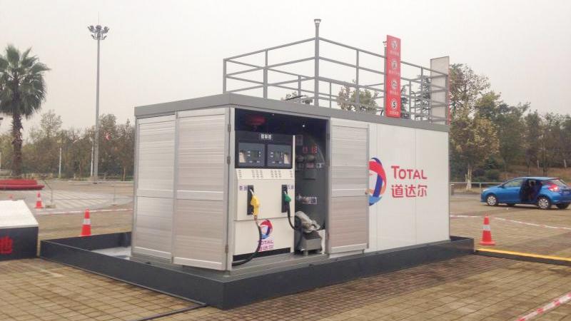 道达尔-优孚尔橇装式加油装置