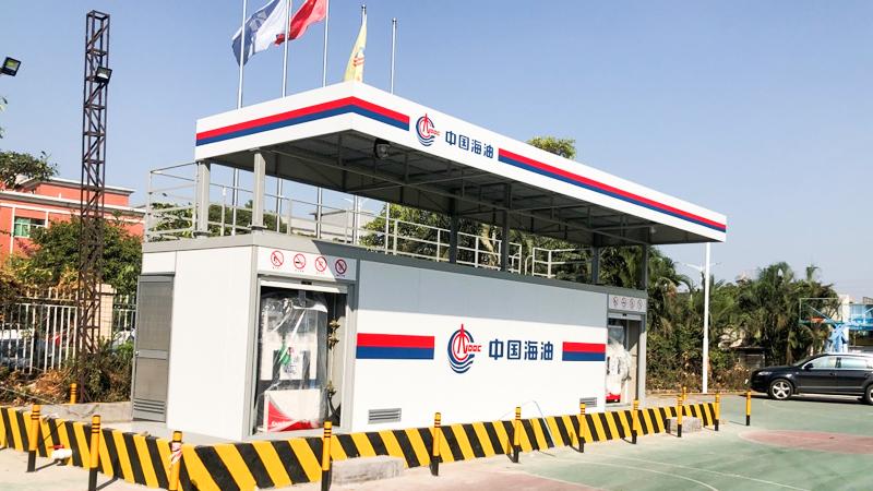 中海油广东---优孚尔橇装式加油装置