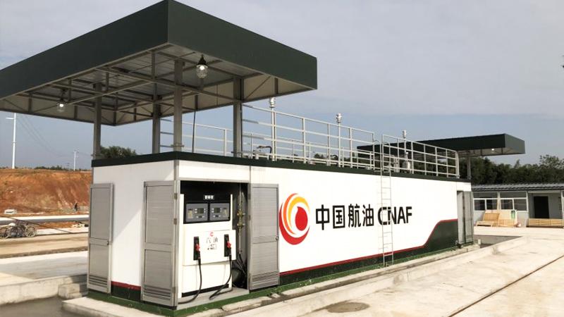 上海中航油-优孚尔橇装站