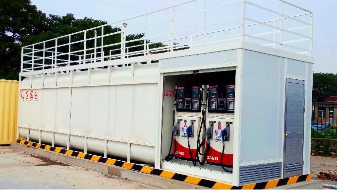 优孚尔撬装加油站出油环节的安全措施