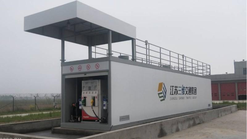 江苏射阳机场----优孚尔通航橇装式加油装置