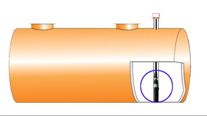 撬装加油站地面双壁储罐的内罐泄漏如何监测