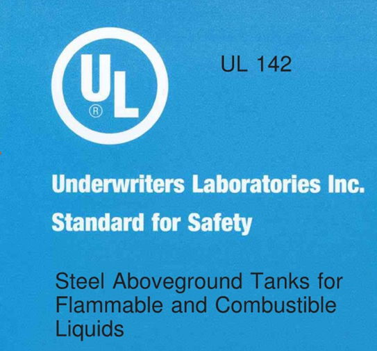 UL142封皮