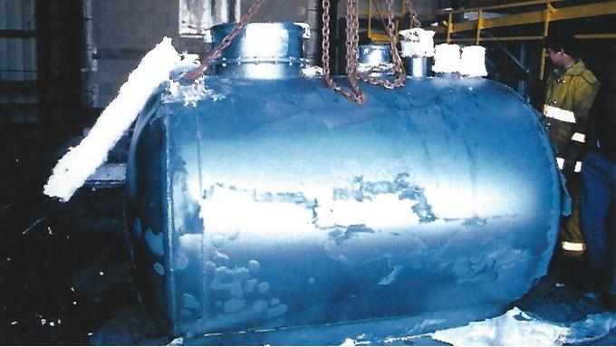 优孚尔储罐在美国通过的压力测试检验