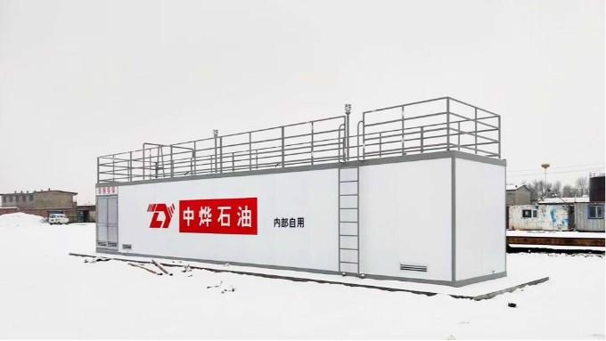 优孚尔撬装加油站—为用油大户企业提供解决方案