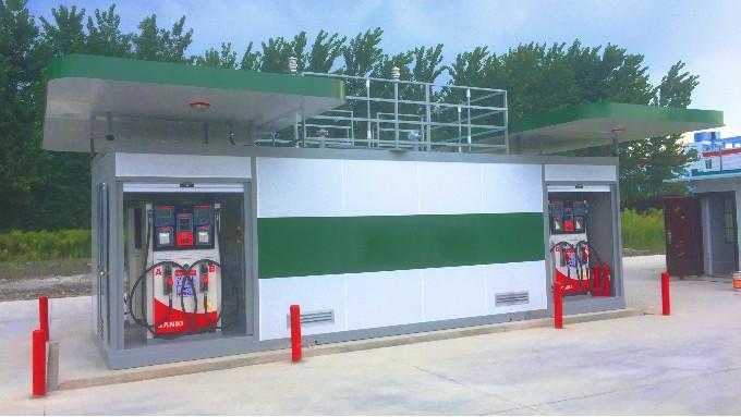 优孚尔撬装加油站进、出油管路的设计特点