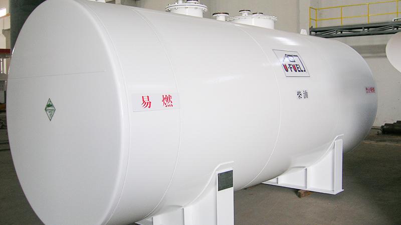 湖州客户-优孚尔双壁地埋储油罐
