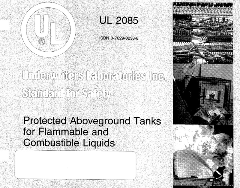 UL2085封皮