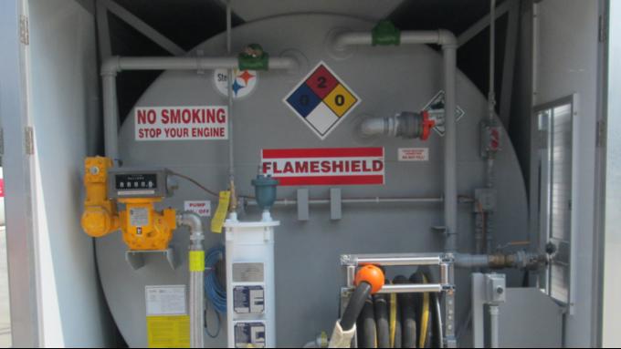 优孚尔撬装加油站能做到多大的加油速度