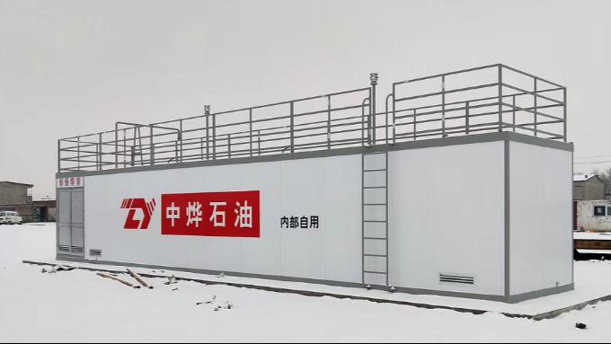 优孚尔撬装加油站可以在多冷的环境下正常使用
