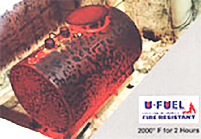 通过储罐耐火测试,2000华氏度焚烧2小时