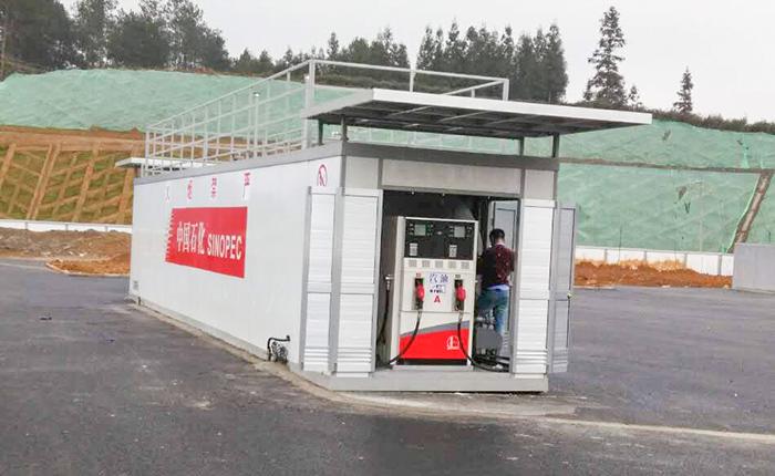 优孚尔橇装式加油装置为贵州高速路保驾护航